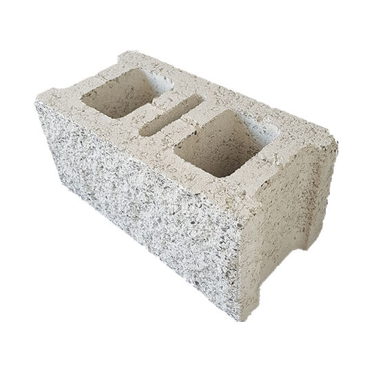 Al Manaratain 8'' Split Concrete Block
