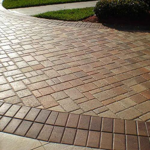Cobble Stone  Decorative Concrete Patios