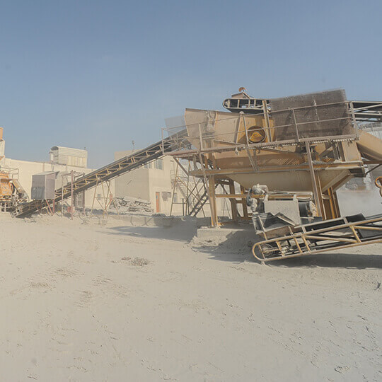 Al Manaratain Crusher Plant