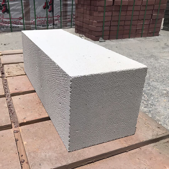 Al Manaratain Lightweight Concrete Block In White