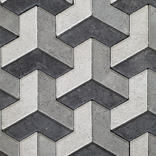 3d Concrete Paver