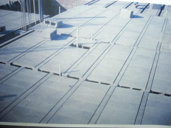 Pre-stressed Concrete T Beam Block Floors