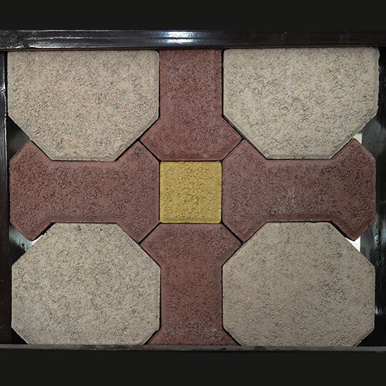Example Of A Quadro Paving Block Pattern