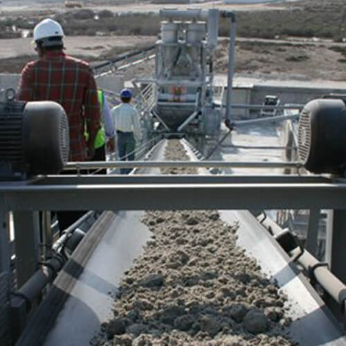 Washed Sand Processing