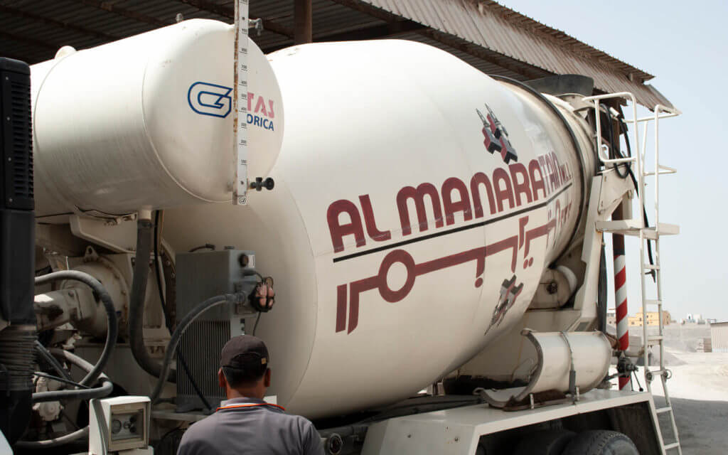 Al Manaratain Ready-Mix Truck