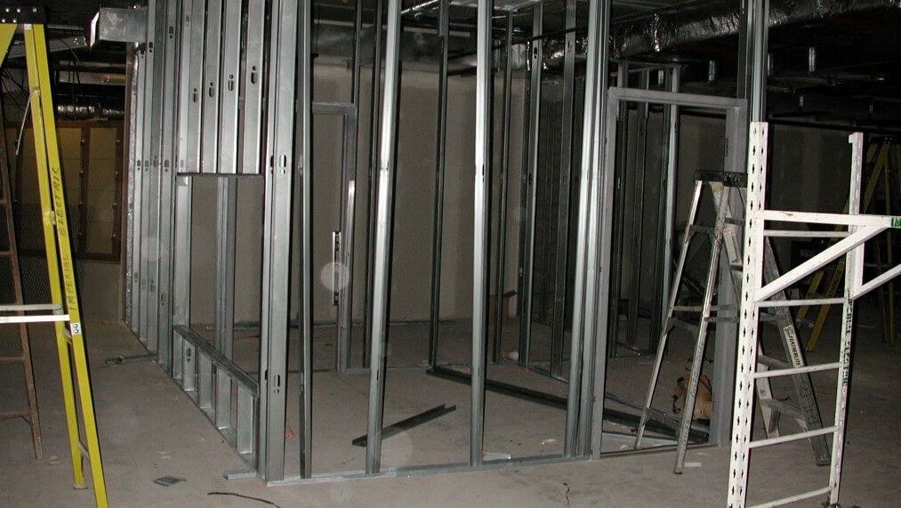 Light gauge metal framing